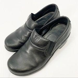 Ariat Sutter Black Genuine Leather Clogs